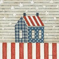Americana Quilt V Fine Art Print