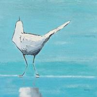 Egret II Fine Art Print
