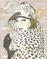 Fashion Week Paris Halftone II Fine Art Print