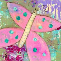 Pink Butterfly Fine Art Print