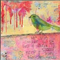 Sunshine Bird Fine Art Print