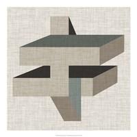 Geometric Perspective II Fine Art Print