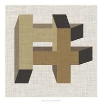 Geometric Perspective VI Fine Art Print