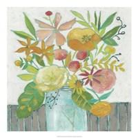Homestead Floral I Framed Print