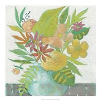 Homestead Floral II Framed Print
