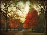 Autumn Promenade Fine Art Print
