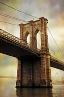 Brooklyn Bridge Morning Fine Art Print