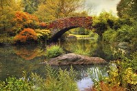 Gapstow Bridge Serenity Fine Art Print