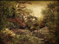 Autumn On Canvas Fine Art Print
