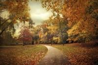 Autumn In Peak Fine Art Print