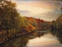 Sunset Pond Fine Art Print