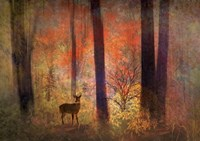 The Visitor Fine Art Print