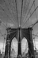 Brooklyn Bridge Tones Fine Art Print