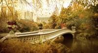 Autumn at Bow Bridge Fine Art Print