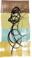 Dancing Swirl II Fine Art Print