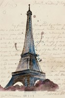 Letters from Eiffel Fine Art Print
