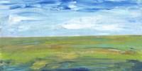 Vast Land I Framed Print