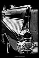 Retro Fins II Fine Art Print