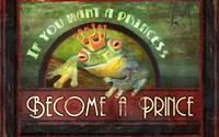 Frog Prince Fine Art Print