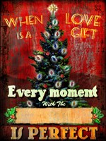 Love Is A Gift Fine Art Print