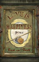 Love Is Happiness Fine Art Print