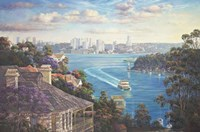 Afternoon Light Sydney Harbour Fine Art Print