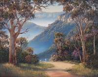 Spring Morning - Katoomba Fine Art Print
