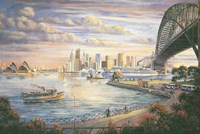 A Sydney Farewell Fine Art Print