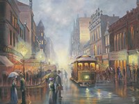 Sydney By Gaslight Fine Art Print