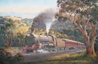 Western Express Fine Art Print