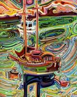 Sailing to Tofino Fine Art Print