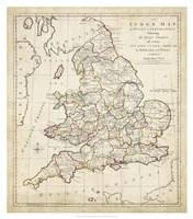 Towns, Castles & Abbey's in England & Wales Fine Art Print