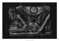 Polished Chrome II Fine Art Print