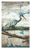 Midway Heron II Fine Art Print