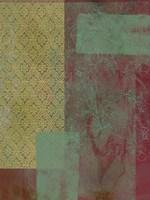 Brocade Tapestry I Framed Print