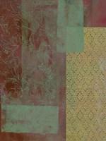 Brocade Tapestry II Framed Print