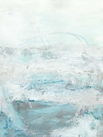 Glass Sea I Framed Print