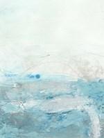 Glass Sea II Framed Print