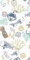 Playing Among Corals I Fine Art Print