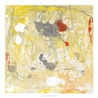 Lemon Jostle I Framed Print