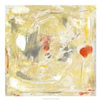 Lemon Jostle II Framed Print