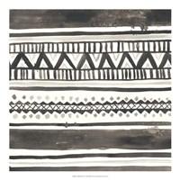 Tribal Echo I Framed Print