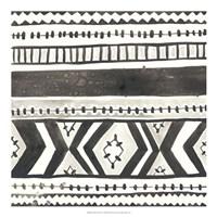 Tribal Echo II Framed Print