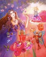 Flora's Realm Fine Art Print