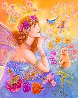 Goddess Of Spring Fine Art Print