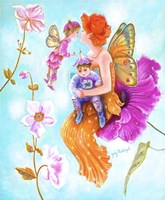 Mother Fairy's Kiss Fine Art Print