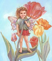 Tulip Fairy Fine Art Print
