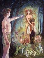 Oberon And Titania Fine Art Print