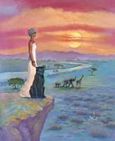 African Queen Fine Art Print