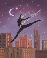 Art Deco Leap Fine Art Print